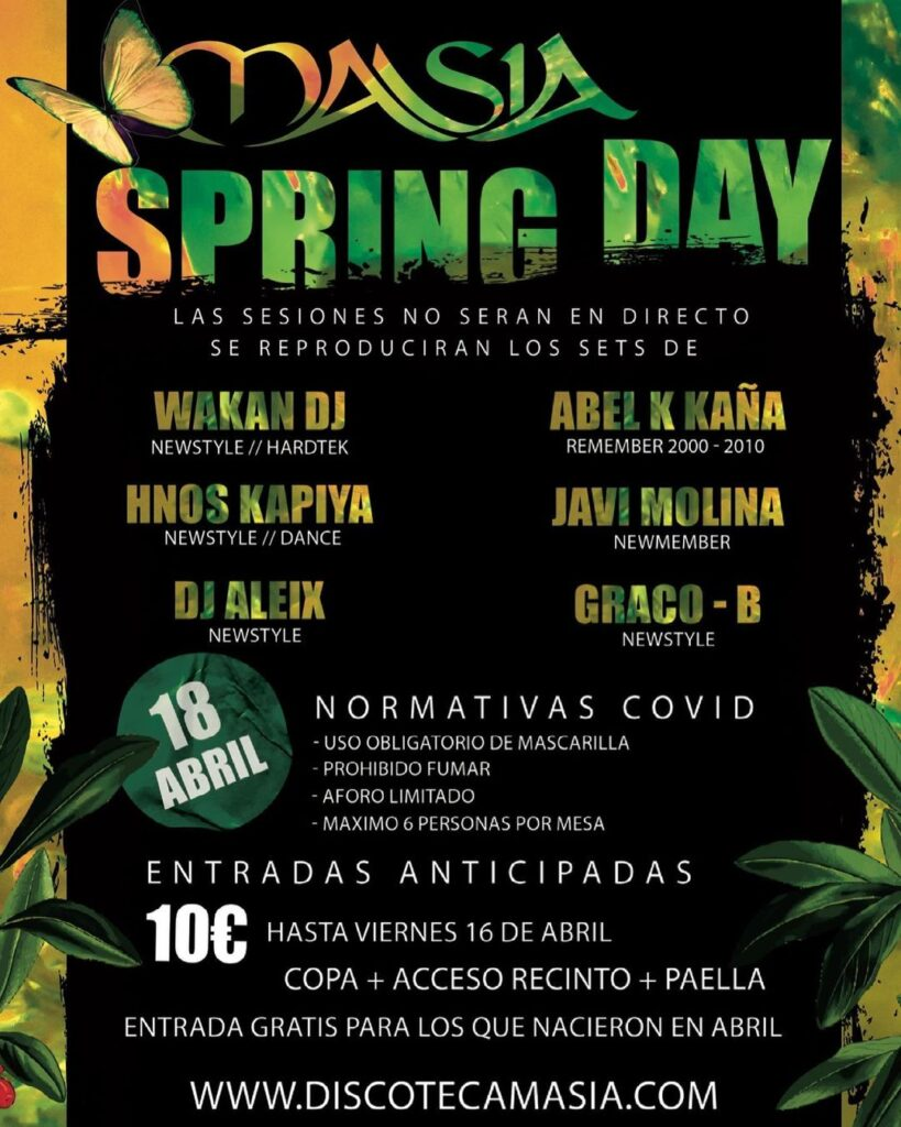 Masia - Spring Day
