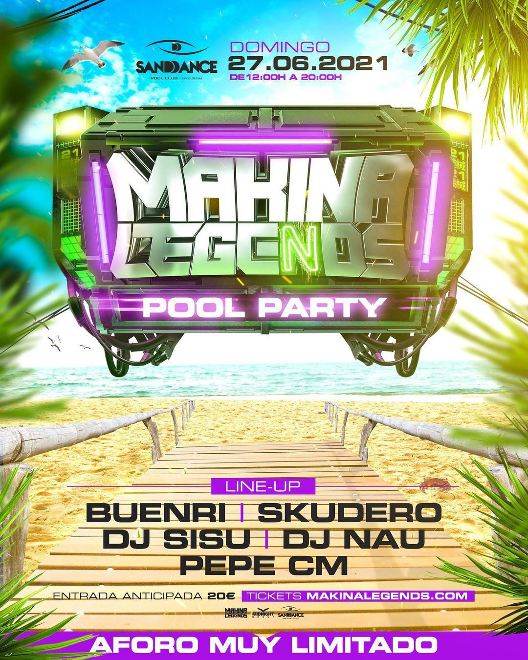 Makina Legends - Pool Party